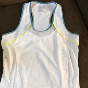 Lucky In Love tennis tank size L